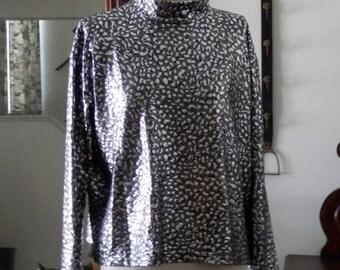 1849 Authentic Ranchwear Slinky Western Show Shirt size L