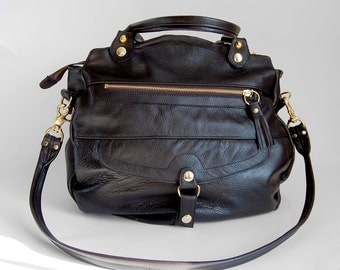 4 pocket Oaxaca bag in black