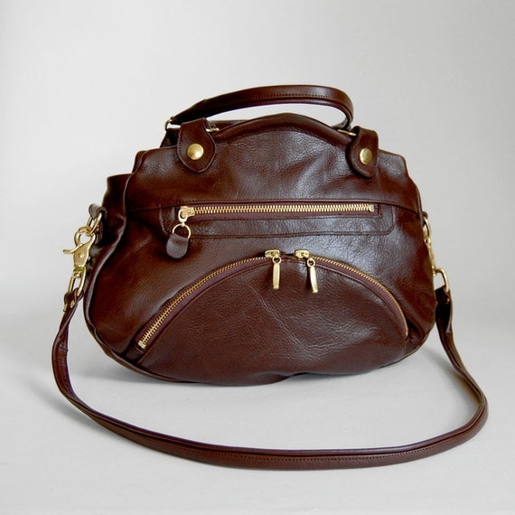 Medium Shikutso bag in brown