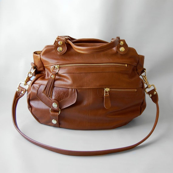 Okinawa bag in whiskey - custom bag for Norli