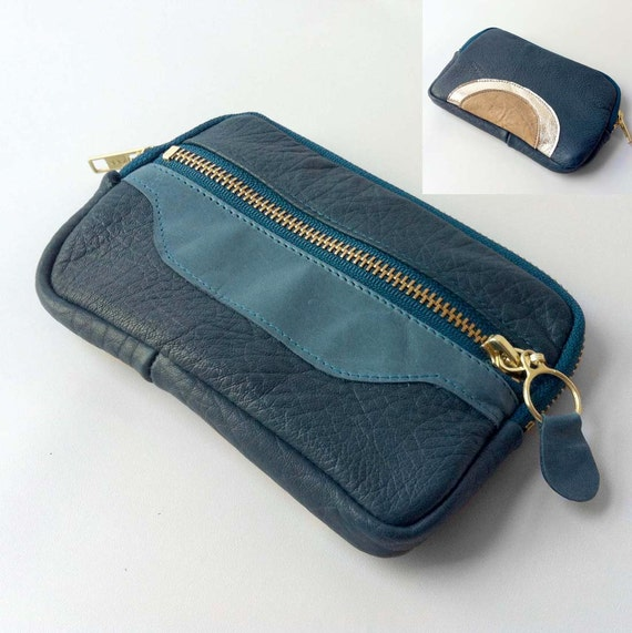 SALE - Large wallet in teal