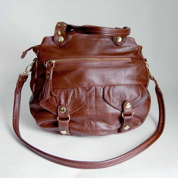 Onishi bag in chestnut