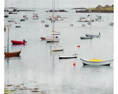 Bateaux (Landscape Photography - Fine Art Print - fish boats - harbour - Sea)