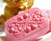 SALE Guava Fig Victorian Cherry Blossom Goats Milk Shea Butter Soap
