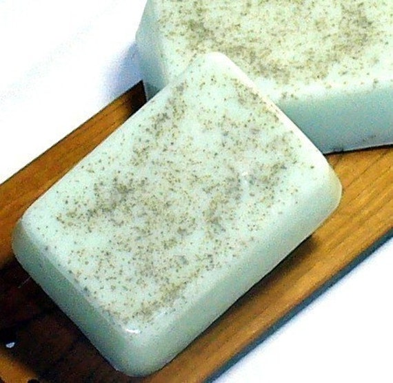 Nag Champa Soap -Nag Champa Scent Soap - Dead Sea Clay - Natural Goats Milk Soap - Purifying Exfoliating - Hippy Soap