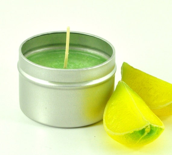 Coconut Lime Verbena Soy Candle 4oz. STORE WIDE SALE