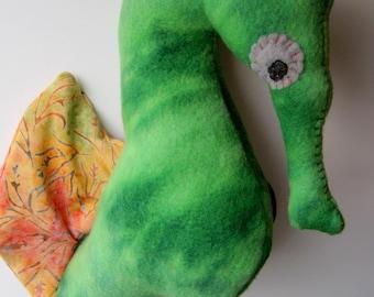 Green Mama Seahorse