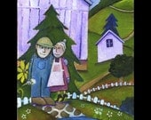 Fritz and Jeanette 8 x 10 .50 giclee print
