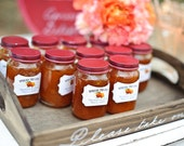 Personalized Jam or Jelly Labels - Spread the Love - Curvy Shape / DIGITAL FILE