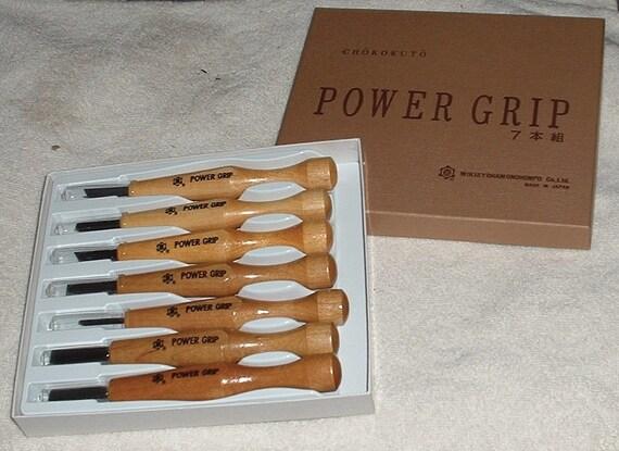 Powergrip carving tools pc set