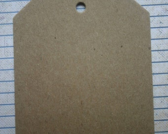 "10 wide large bare chipboard shipping style tags 3 5/8"" wide x 5 1/16"" high"