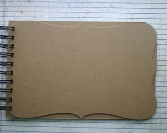 Mix and Match Style no. 2 Wire Bound Chipboard die cut Album 6 pgs