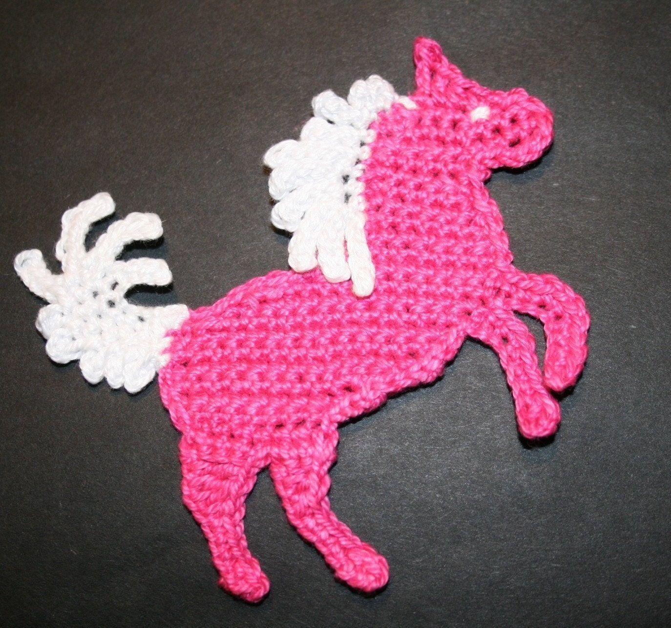 Pattern-Crochet Horse Pony Or Unicorn