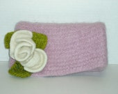 Felted Knitting Patterns Felted Clutch Bag Knitting Patterns Felted  Flower Pattern Included Open the Envelope Please I...free PDF delivery