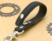 Bicycle Tire Keychain - Black