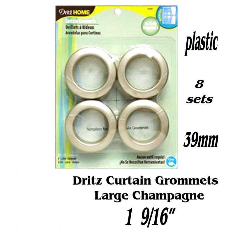 Dritz Home Curtain Grommets Large Champagne By SewingSupplies