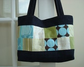 Patchwork and Denim Tote