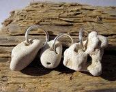 Holey Stones - 3 Natural Powerful Holey / Holy / Hag / Odin/ Fairy / Dream Stones Rocks