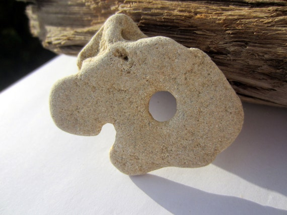 Natural Stone Powerful Holey / Holy / Hag / Odin Fairy Dream healing luck  Rock