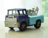 Vintage Marx Tow Truck
