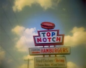 DAZED and CONFUSED at top notch burger 5x5 fine art print austin, texas in stock and ready to ship medium format film