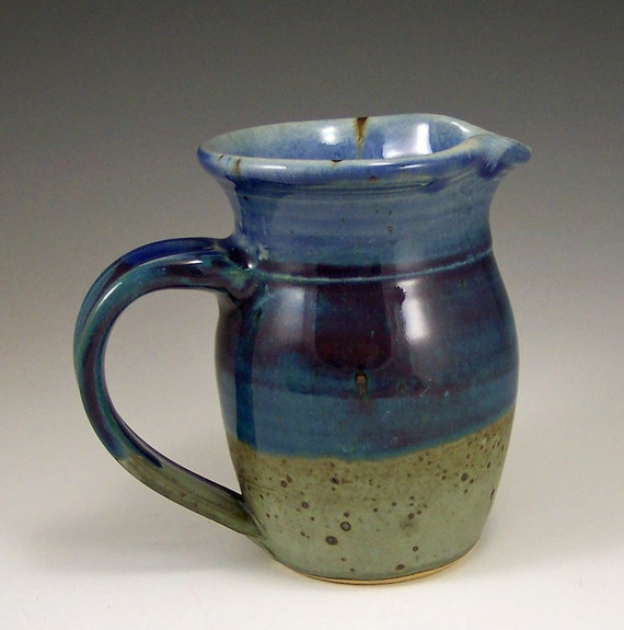 Cream or Syrup Pitcher Webb Stoneware Pottery