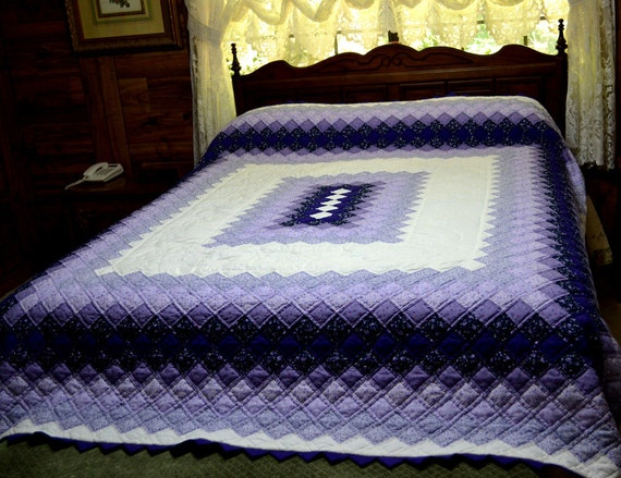 Hand Quilted Boston Commons Quilt