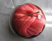 Handspun Yarn (Falkland) - Melon Salad - 386 yards - 2-ply Worsted Weight