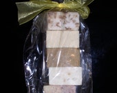 6 Bars NATURAL SOAP SAMPLER Goat's Milk Raw Organic Shea Butter AsSoRtEd VaRiEtY BaTh PaCk Cold Processed Pure Herbal Botanical