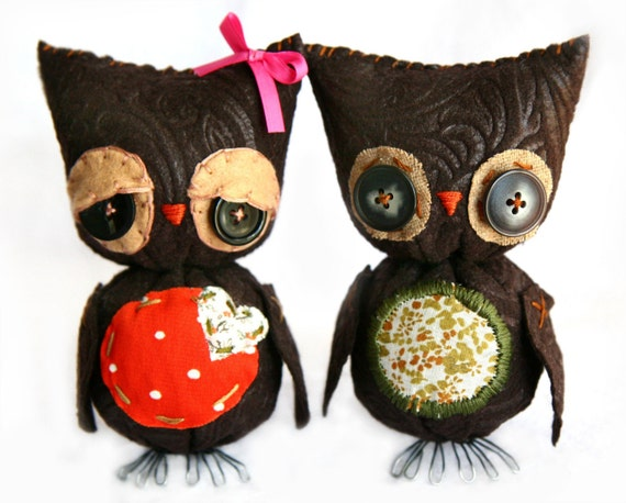 Camille and Owly... Owls in Love