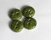 Pottery Buttons Sage Green