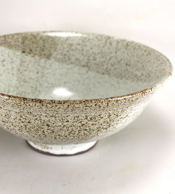 Pottery  Serving Bowl 9 inch Diameter