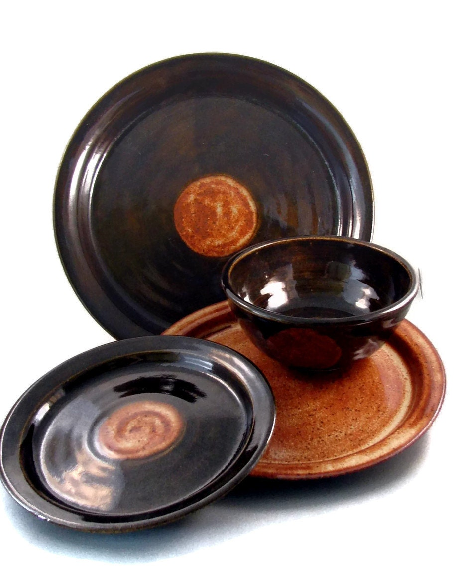 handmade stoneware dinnerware sets ceramic dinnerware sets handmade dishes plates and bowls 1440