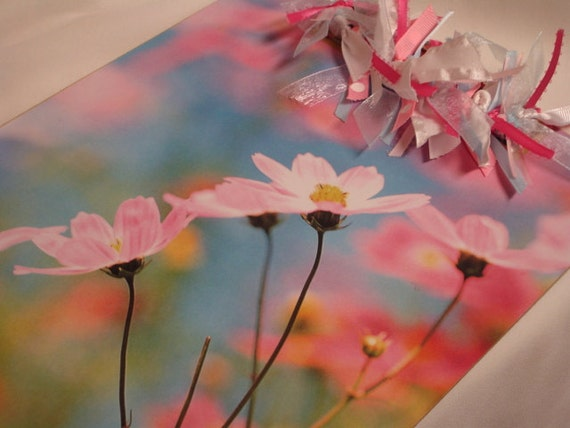 Clearance Sale SPRING FLOWERS CLIPBOARD