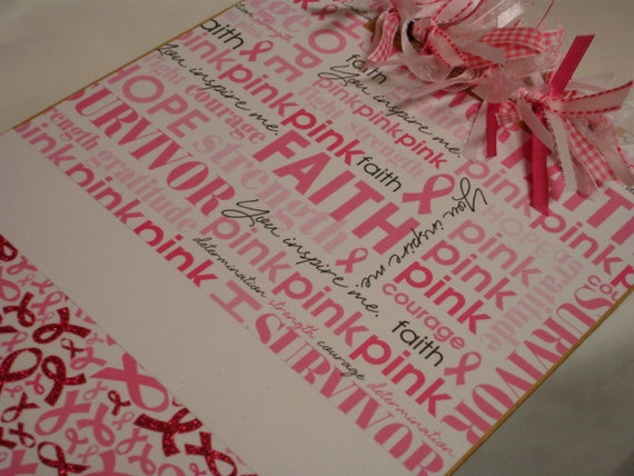 BREAST CANCER AWARENESS Clipboard