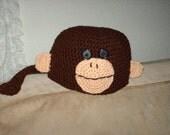 Silly Monkey Hat PDF Pattern