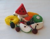 Felt Assorted Cut Fruits