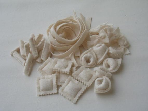 Assorted Felt Pasta Set