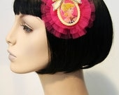 Dolly Dream Tulle Hair Clip Accessory by Cutie Dynamite Lolita Goth Punk Burlesque Pinup by Cutie Dynamite