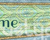 Blue and Green Premade Banner and Avatar