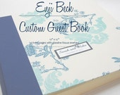 Custom Guestbook / Album- 12 by 12 with 50 pages and glassine tissue inserts