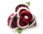 Red Brooch reserved for Sonia