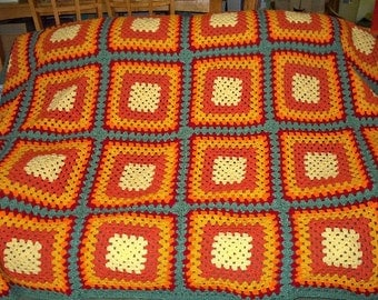 Autumn Colors Afghan