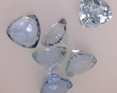 Set of Aquamarine gemstones