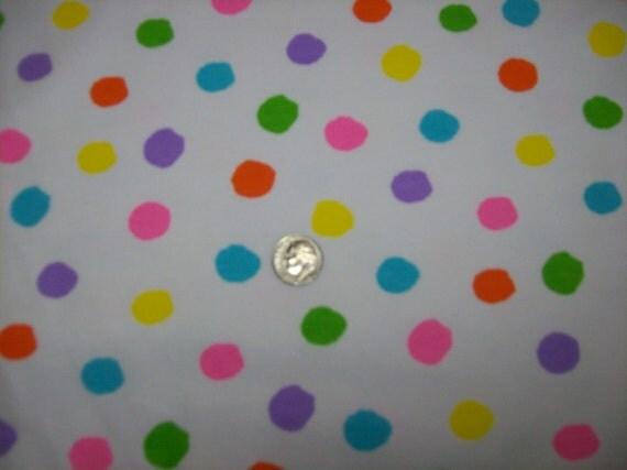 Dots Cotton Lycra Knit Fabric
