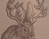Prepared for all Contingencies Brown Jackalope Card