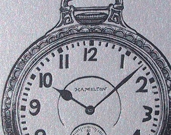 Silver Pocket Watch Two