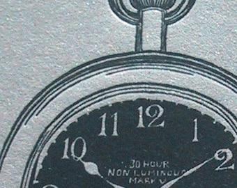 Silver Pocket Watch One