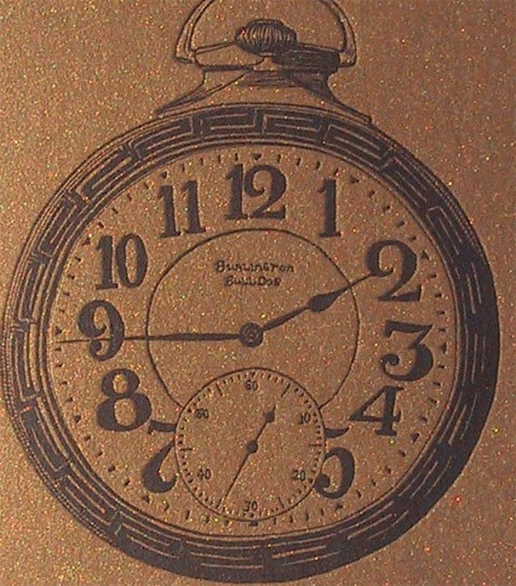 Gold Pocket Watch One