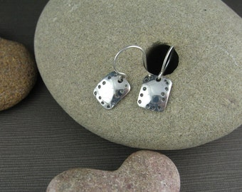 Dotted Squares Earrings